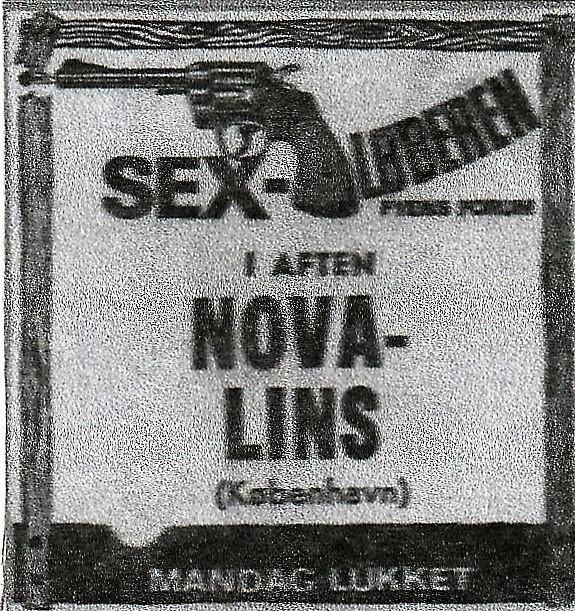 THE NOVALINS - SEXLØBEREN