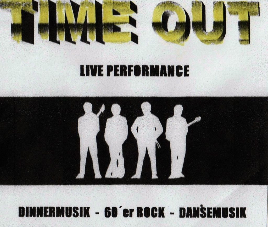 TIME OUT -DEMO COVER