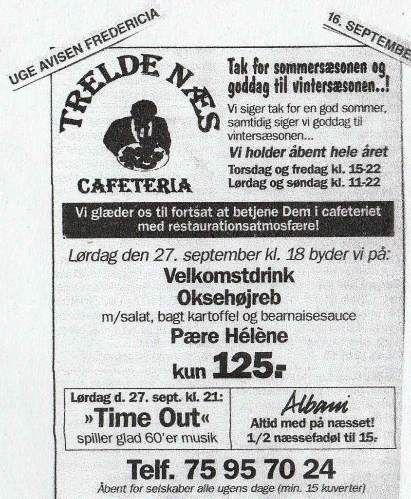 TIME OUT TRELDE NÆS 1